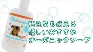 【iHerbレビュー】Mildbynatureベビー用ボディーソープ