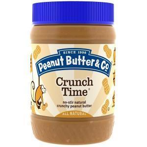 アイハーブおすすめ商品「Peanut Butter & Co.のピーナッツバター(CrunchTime)」