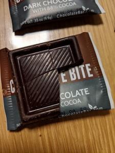 iHerbレビュー「Endangered Species Chocolate」社の「Extreme Dark Chocolate Bites(エクストリームダークチョコレートバイツ)」チョコレート