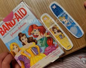 子供におすすめ ディズニープリンセスの絆創膏