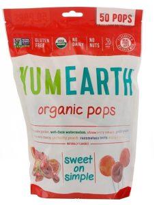 YUM EARTHのオーガニックポップス(キャンディ)