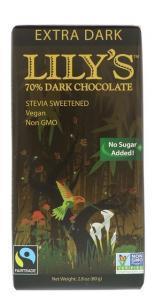 アイハーブおすすめ商品「Lily's Sweetsのダークチョコレート」