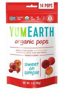 アイハーブおすすめ商品「YUM EARTHのorganic pops」