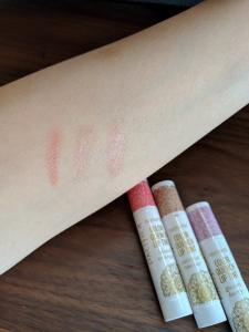 【レビュー】Pacifica色付きリップカラー比較
