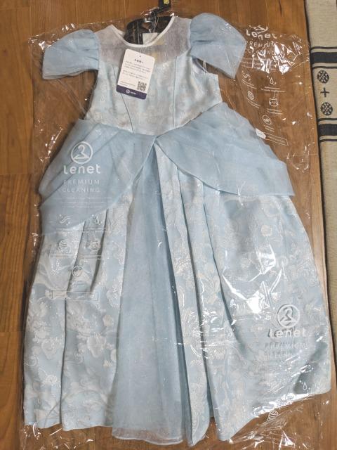 リネット(Lenet)でクリーニングしたドレス