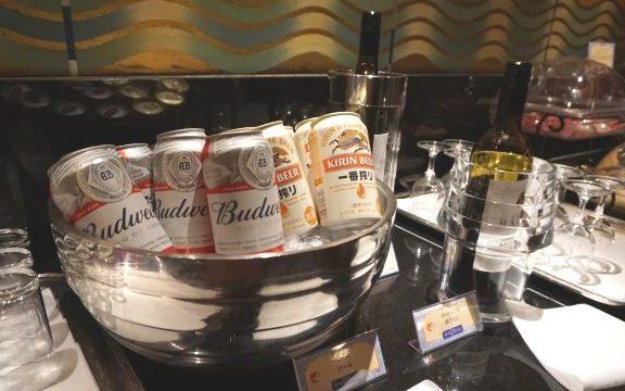 アンバサダーラウンジのビール